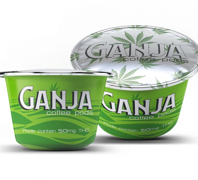 GANJA COFFEE PODS
