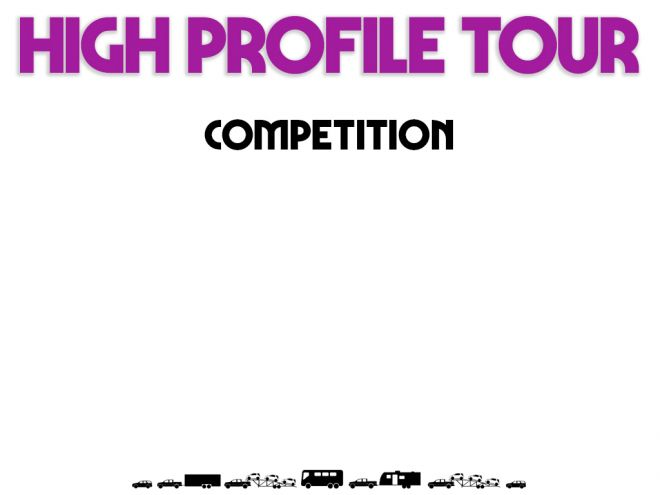high profile tour pitch deck our competition