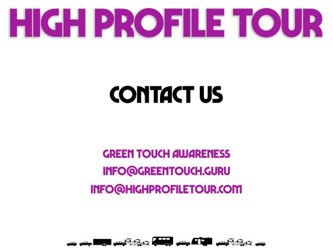 high profile tour pitch deck contact us