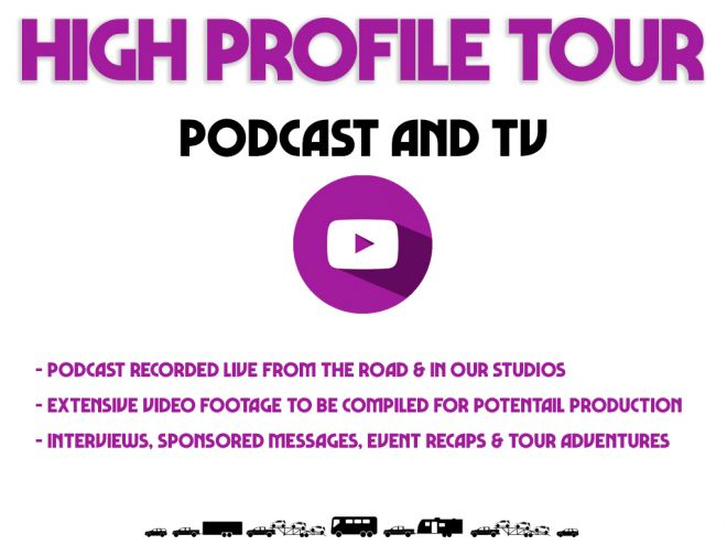 high profile tour pitch deck podcast tv