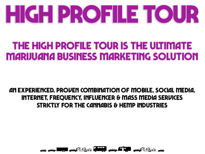 high profile tour pitch deck mission statement