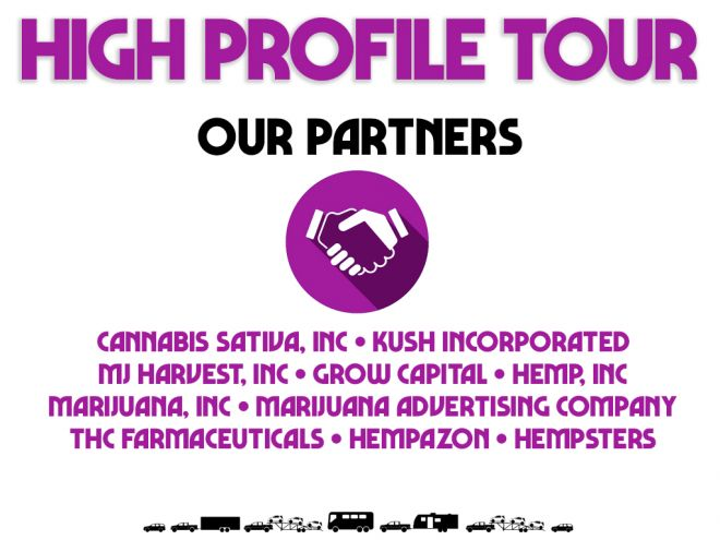high profile tour pitch deck our partners